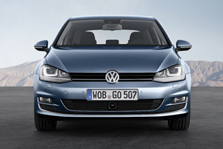 Face avant VW Golf 7